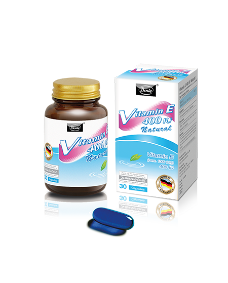 Natural Vitamin E 400IU Bode