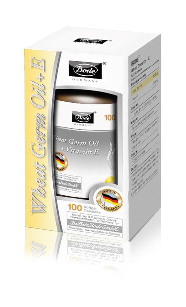 WHEAT GERM OIL + E Bode