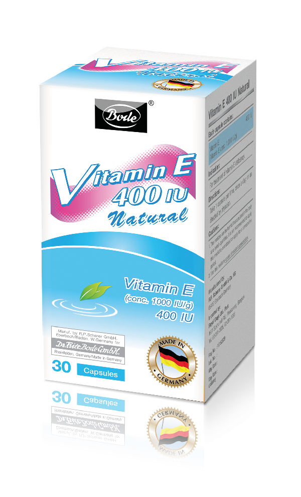 Natural Vitamin E 400IU Bode